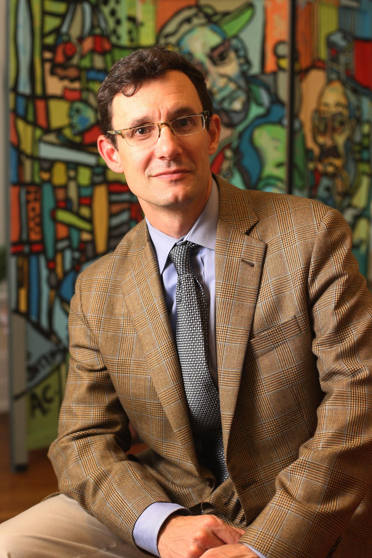 11-10-10 - Photos of Assistant Professor of Sociology Steven J. Tepper of the Curb Center at Vanderbilt located at 1801 Edgehill Ave. (Vanderbilt University / Steve Green)